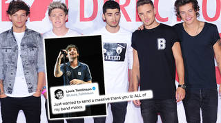 Louis Tomlinson said what One Direction 'did together was incredible'.