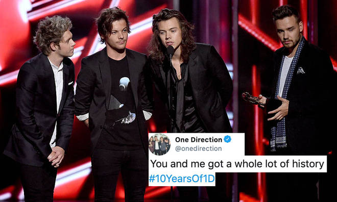 One Direction have fans hopeful they're making a big announcement