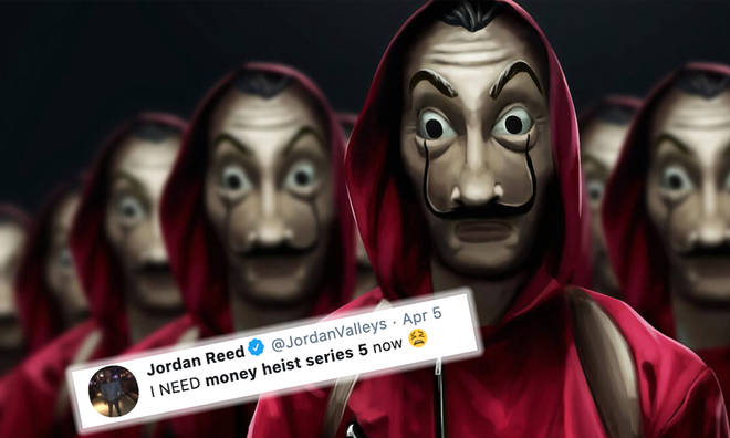 Money Heist series 5 confirmed by Alex Piña but we won't be getting it yet