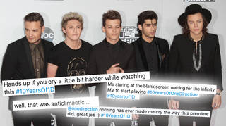 One Direction fans had mixed feelings about the anniversary video