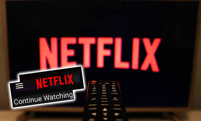 Here's how to remove your Netflix 'continue watching' row