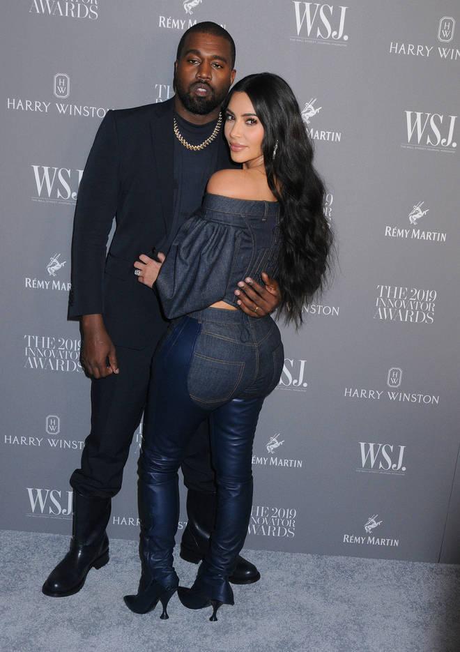 Kim Kardashian released a statement on her husband