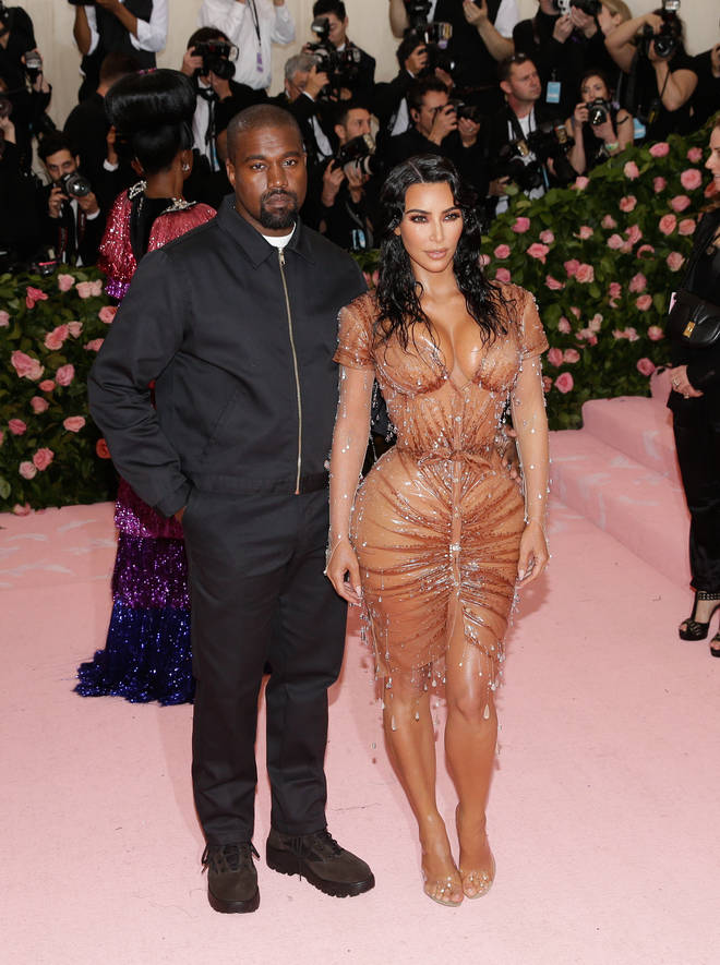 Kanye West claimed he's been trying to divorce Kim Kardashian for two years