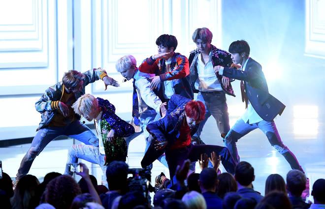 BTS American Music Awards