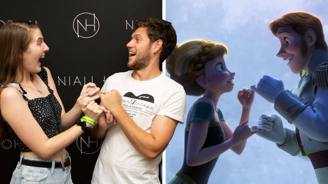 Niall Horan's Fan Photo and 'Frozen'