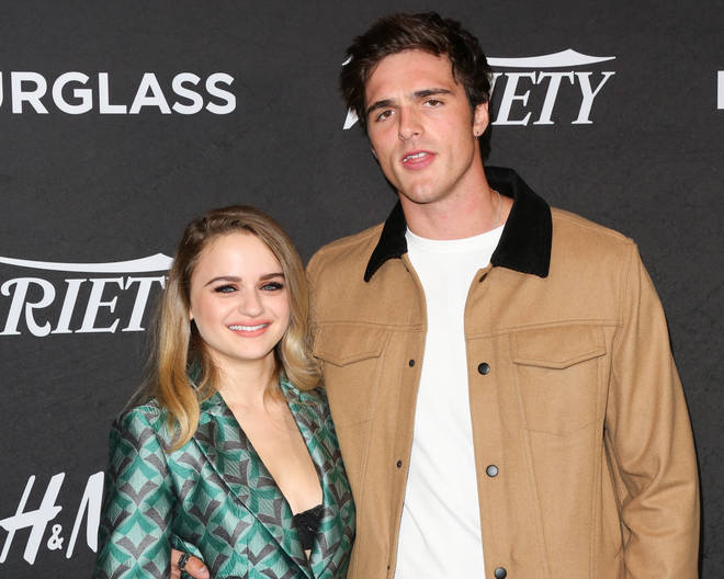 Joey King and Jacob Elordi on the red carpet in 2018