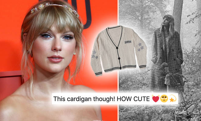 Taylor Swift has a track called 'Cardigan' on her new 'Folklore' album.