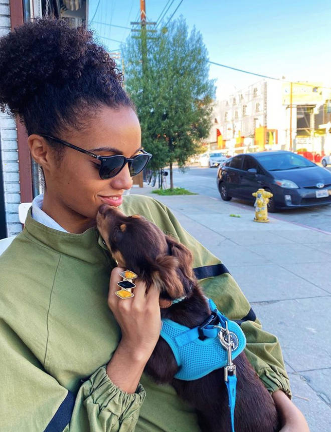 Maisie Richardson-Sellers describes herself as a 'story teller' on Instagram
