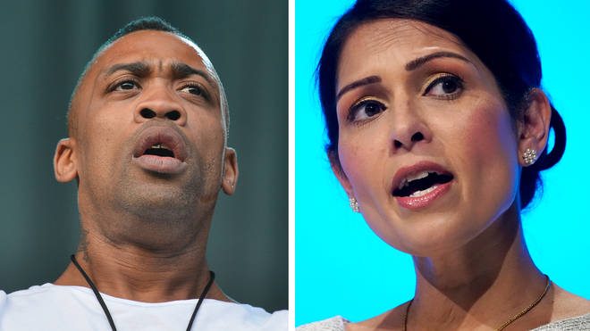 Priti Patel criticises Instagram and Twitter after Wiley's anti-Semitic posts