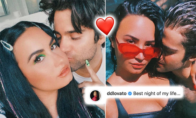 Demi Lovato gave fans a glimpse of the night she was proposed to