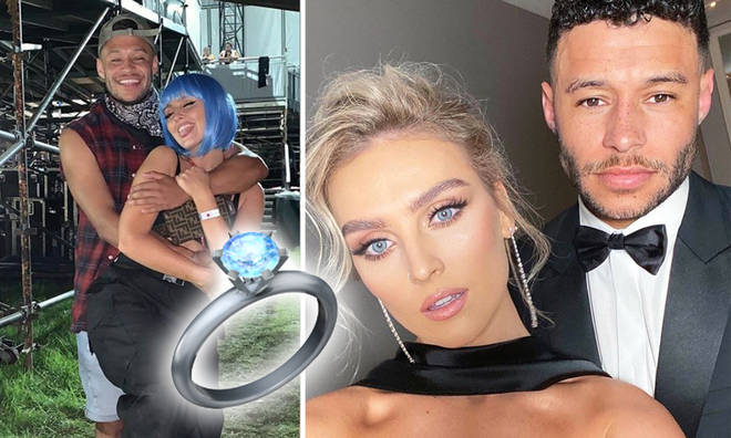 Perrie and Alex aren't ready to be engaged, according to the Little Mix singer.