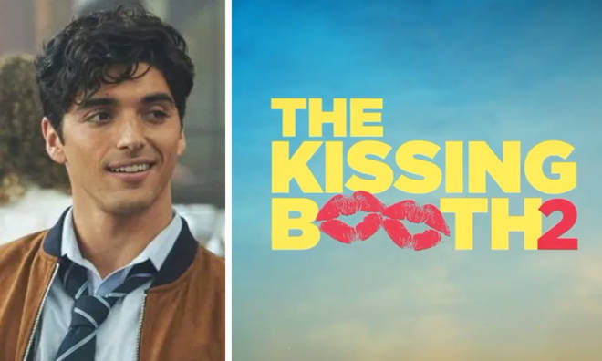 Taylor Zakhar Perez is a new character in The Kissing Booth sequel.