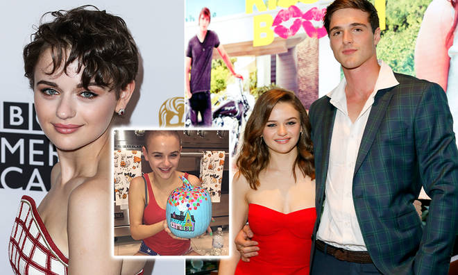 Joey King's fans speculated about whether or not her hair was real in The Kissing Booth 2