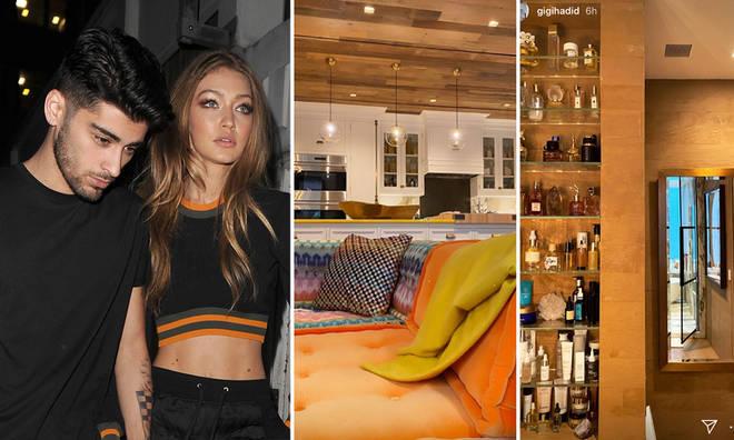 Gigi Hadid showed off her New York apartment
