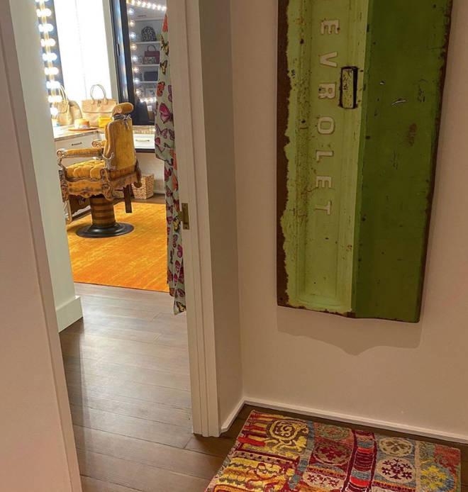 Gigi Hadid's apartment has its own beauty studio