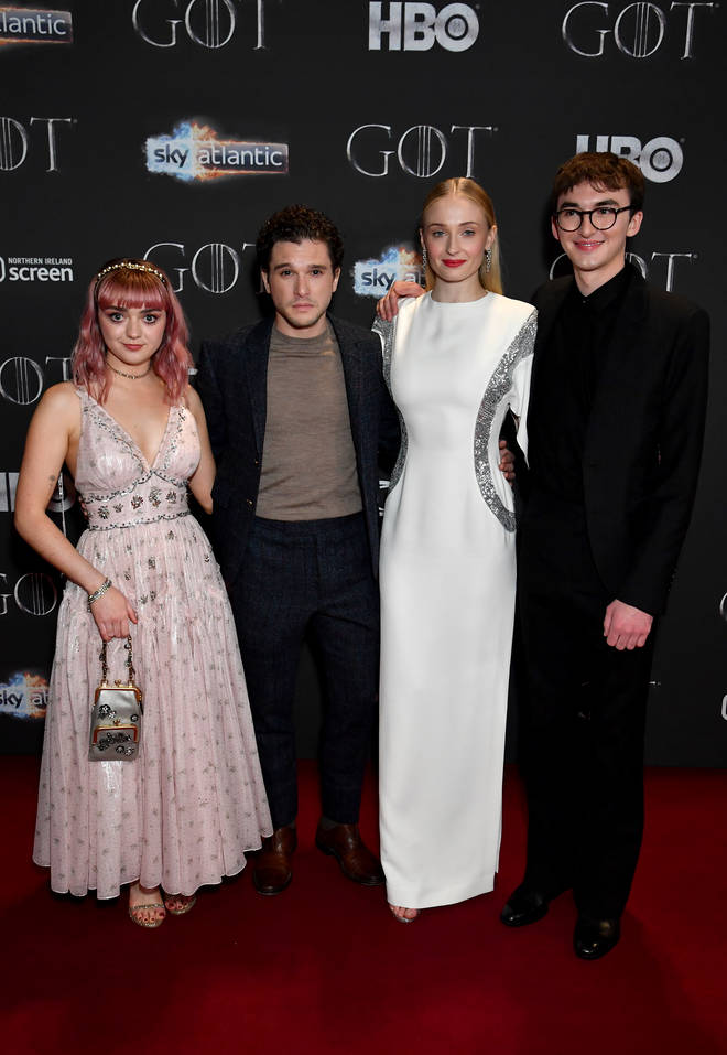 Sophie Turner starred in Game of Thrones for eight years
