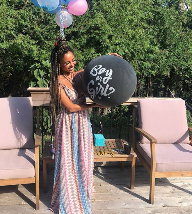 Vanessa Morgan is pregnant with her first child.