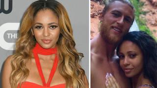 Vanessa Morgan and her husband have split.