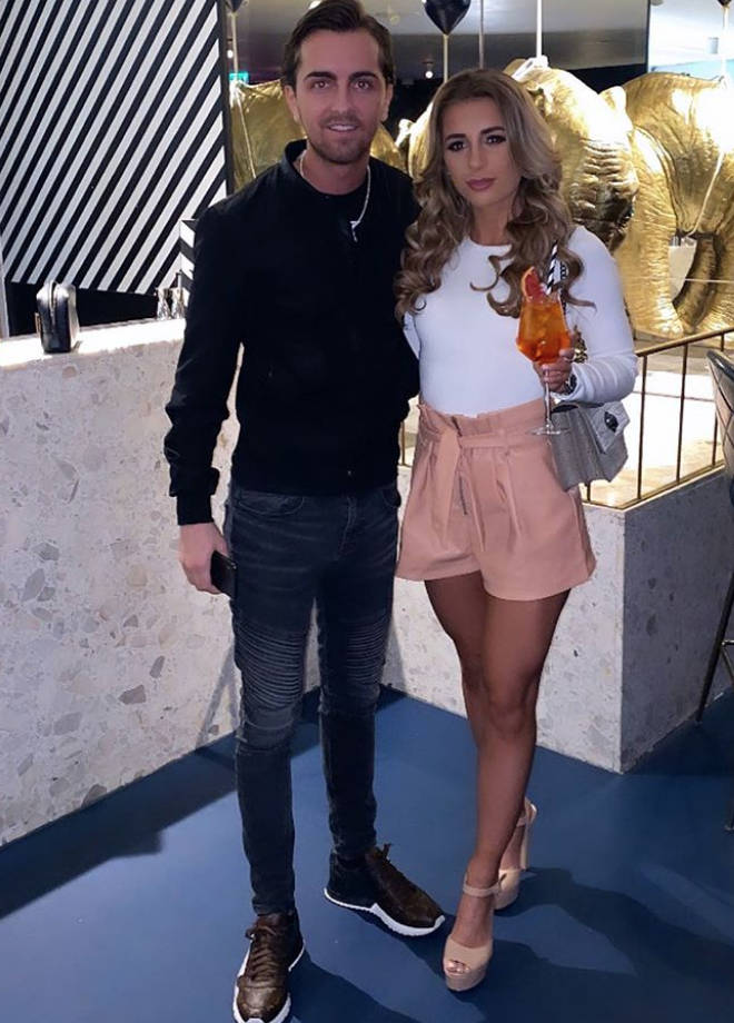 Dani Dyer and boyfriend Sammy Kimmence are parents-to-be