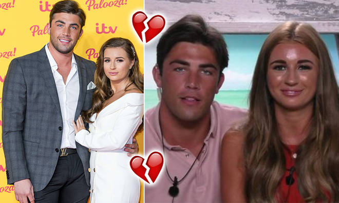 Jack Fincham and Dani Dyer split after their stint on Love Island