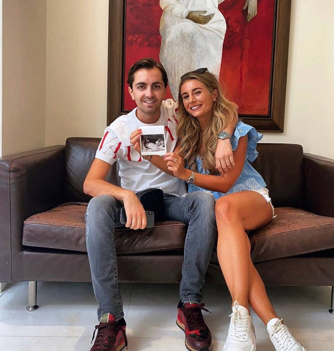 Dani Dyer and Sammy Kimmence announced they're expecting their first baby