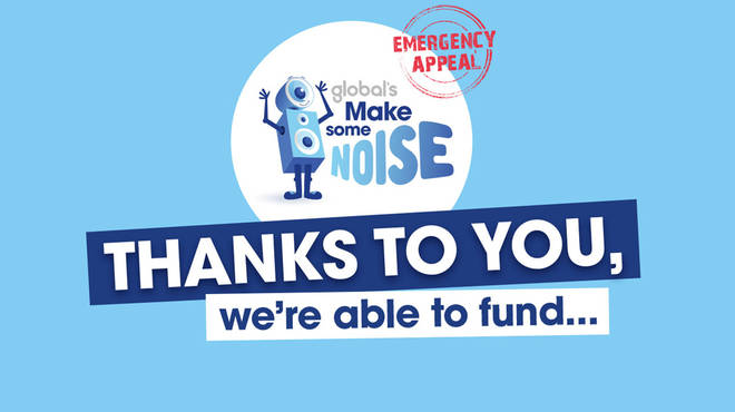 Global's Make Some Noise has started releasing funding from its Emergency Appeal to small charities