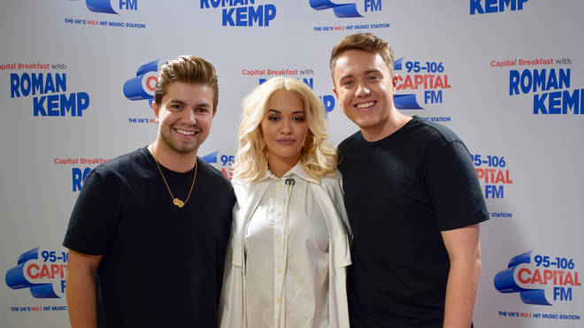 Rita Ora on Capital Breakfast with Roman Kemp and Sonny Jay