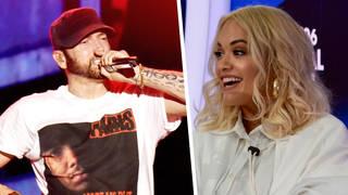 Rita Ora and Eminem