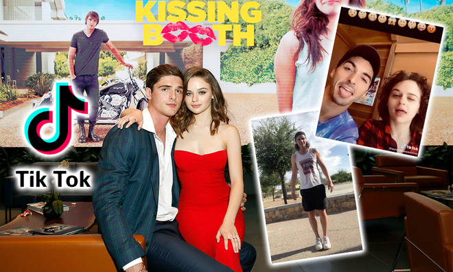 Stars of The Kissing Booth have been sharing TikToks with fans