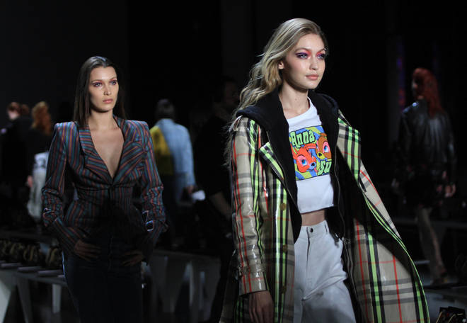 Bella and Gigi have shared the runway on multiple occasions