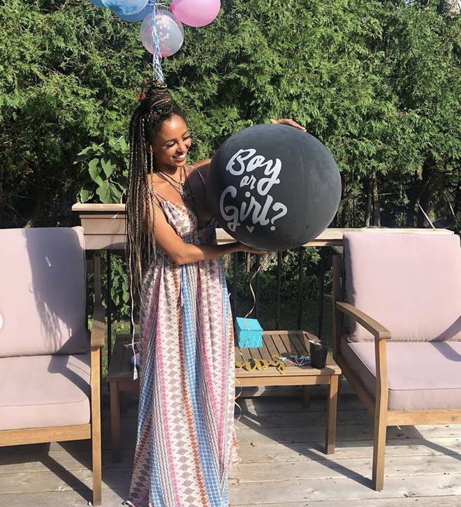 Vanessa Morgan is pregnant with a baby boy