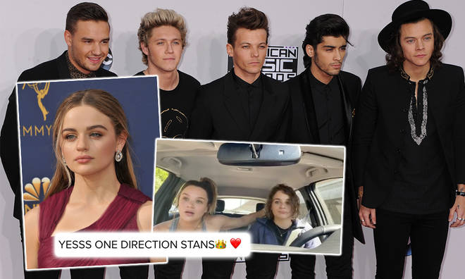The Kissing Booth fans praised Joey King for singing along to One Direction