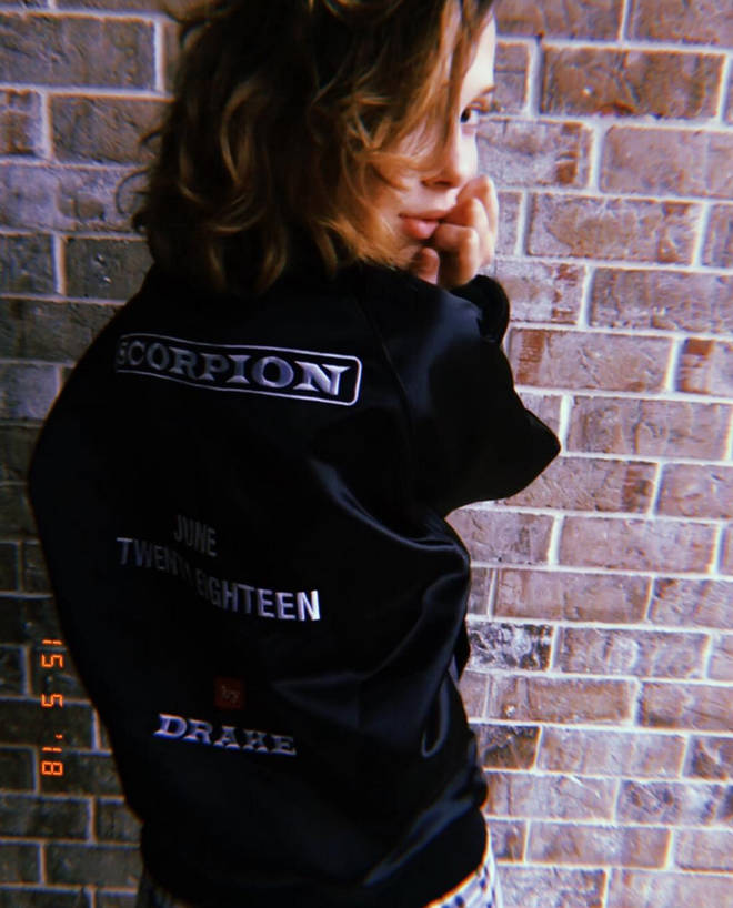 Millie Bobby Brown was gifted Drake merch ahead of his 'Scorpion' album launch