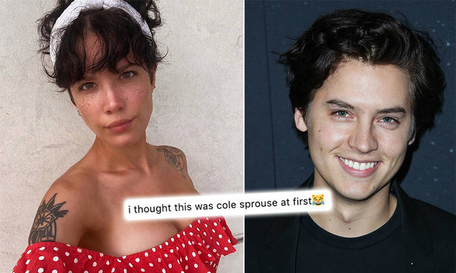 Halsey and Cole Sprouse confused fans on Twitter