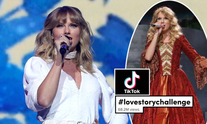The Love Story challenge has fans dancing to a remix of Taylor Swift's huge 2008 single