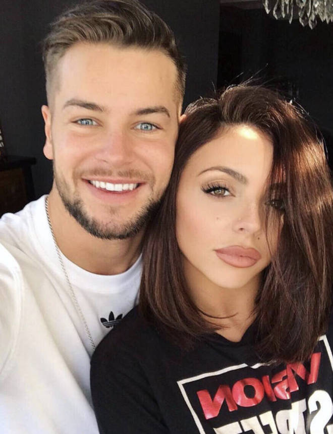 Chris Hughes and Jesy Nelson were together for over a year