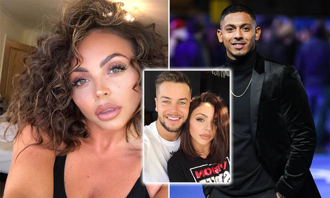 Jesy Nelson was spotted out with Sean Sagar and Chris Hughes is said to be finding it 'hard' to see