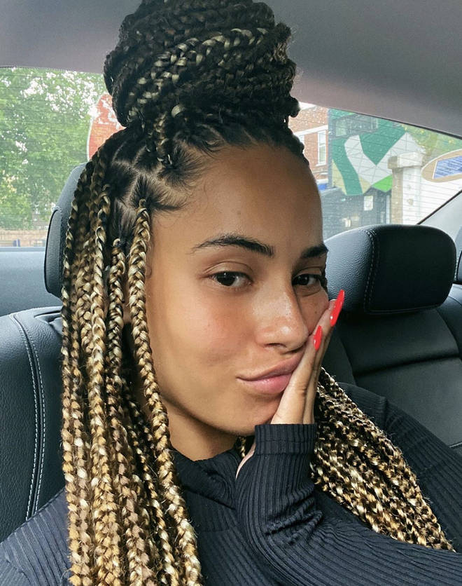 Amber Gill exposed the troll on Instagram