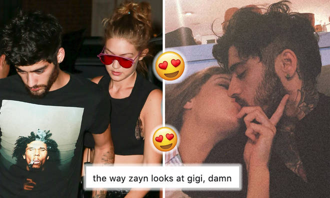 Zayn and Gigi Hadid's first ever snap from 2015 proves it was love at first sight