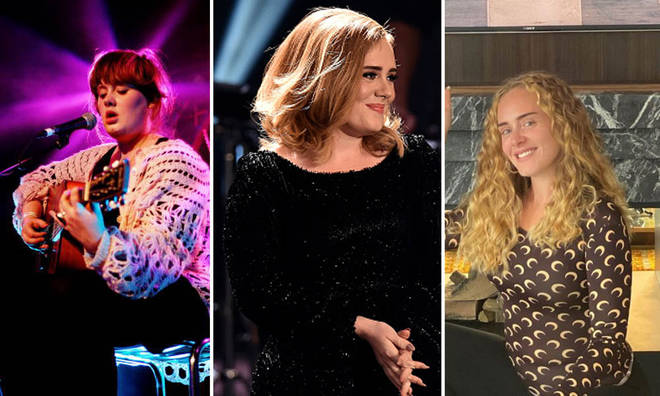 Adele has transformed her appearance since entering the spotlight