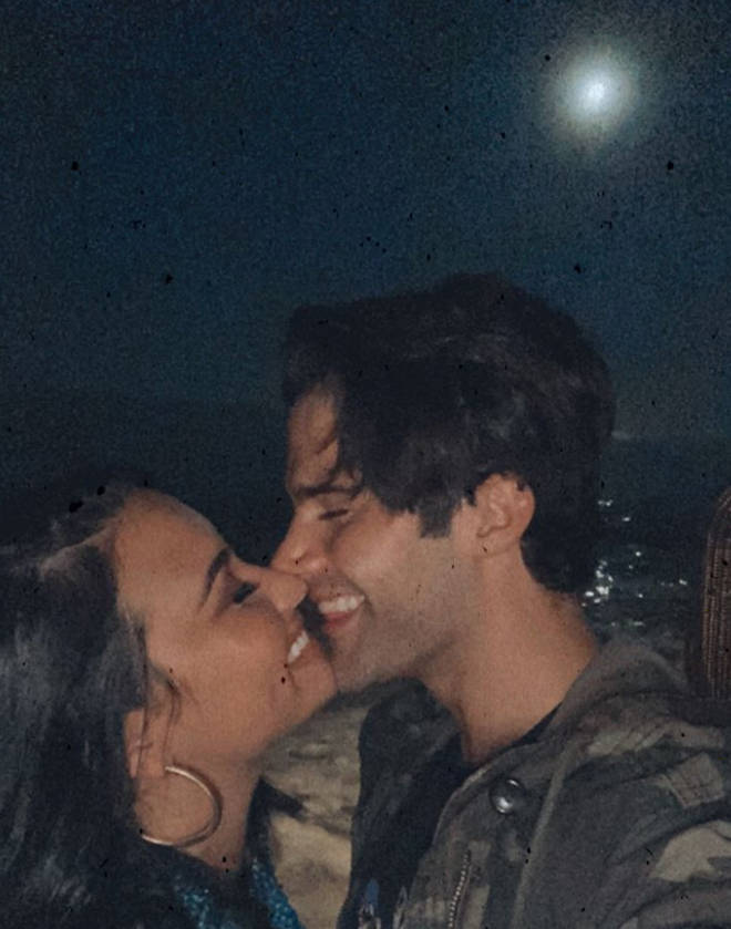 Demi Lovato and Max Ehrich got engaged after five months together