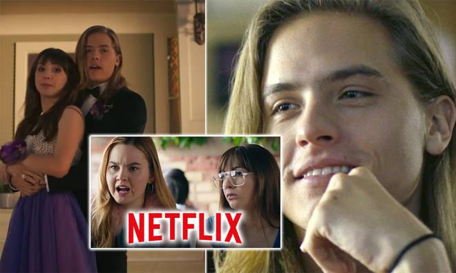 Dylan Sprouse stars in the new Netflix film Banana Split