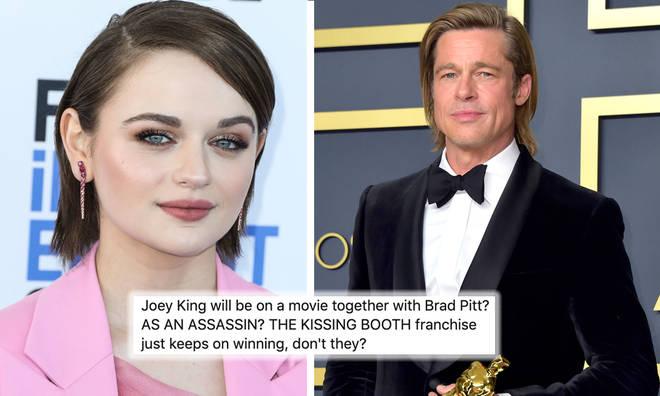 Kissing Booth star Joey King cast alongside Brad Pitt
