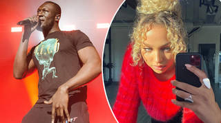 Stormzy's new love interest flew to see him when lockdown was lifted