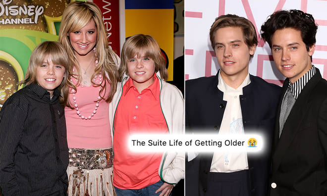 Ashley Tisdale wished Cole and Dylan Sprouse a happy birthday.