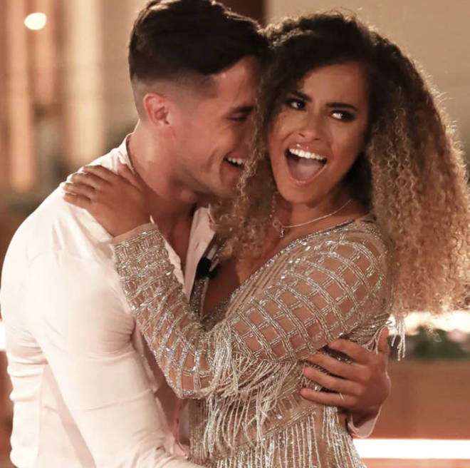 Amber Gill previously revealed Greg O'Shea called time on their relationship via text message