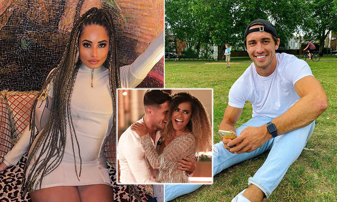 Amber Gill hit out at Greg's brutal tweet in a TikTok comment