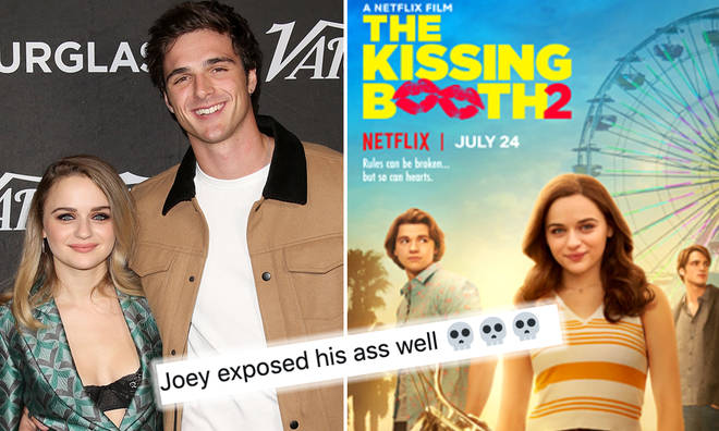 Joey King shades Jacob Elordi for saying he 'hasn't seen' Kissing Booth 2