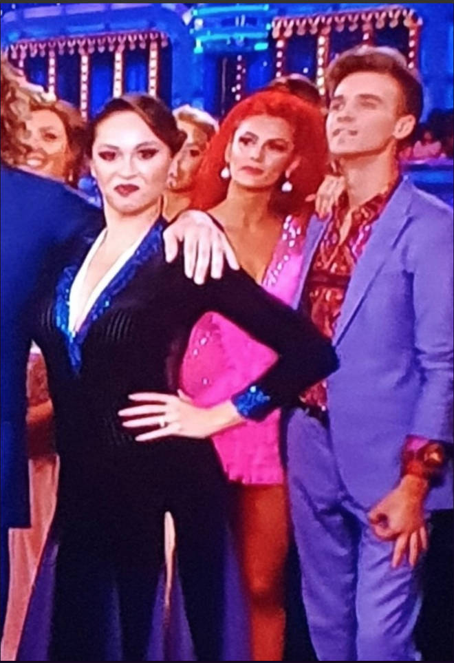 Joe Sugg's secret hand gesture has been slammed as racist by some Strictly Come Dancing viewers