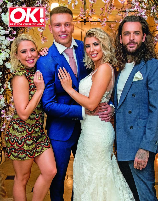 Olivia Buckland & Alex Bowen were drunk in their wedding photos